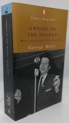 George Melly OWNING UP: THE TRILOGY First Edition Paperback Signed