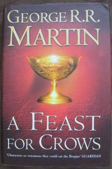 George RR Martin A FEAST FOR CROWS First Edition Signed
