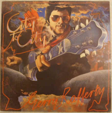 Gerry Rafferty CITY TO CITY Vinyl LP