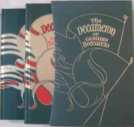 Giovanni Boccaccio THE DECAMERON Folio Society 1998
