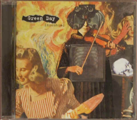 Green Day INSOMNIAC CD