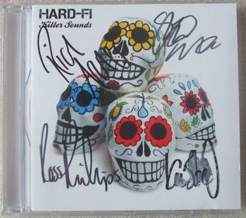 Hard-FI Killer Sounds CD Multi Signed