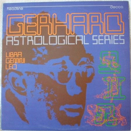 HEAD 11 Gerhard ASTROLOGICAL SERIES Vinyl LP Atherton