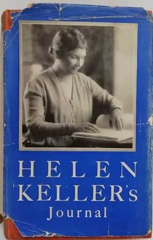 Helen Keller JOURNAL First Edition Signed