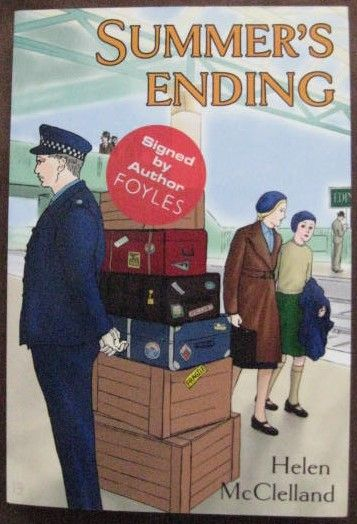 Helen McClelland SUMMER'S ENDING First Edition Signed Paperback