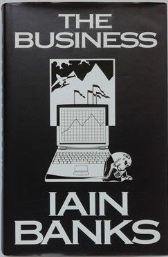 Iain Banks THE BUSINESS First Edition Signed Bookplate