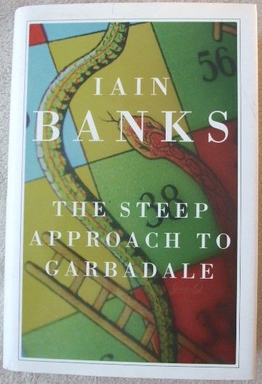 Iain Banks THE STEEP APPROACH TO GARBADALE Signed Hardback