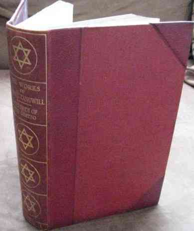 Israel Zangwill CHILDREN OF THE GHETTO Volume 1 Signed Limited Edition