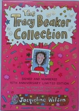 Jacqueline Wilson THE TRACY BEAKER COLLECTION Signed Slipcased Limited Edition
