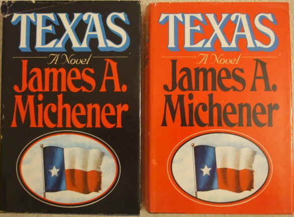 James A Michener TEXAS 2 Volume BCE