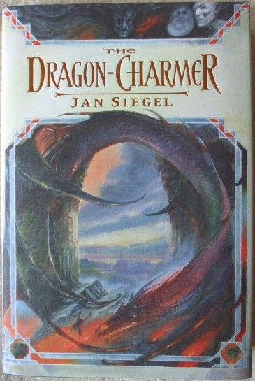 Jan Siegel THE DRAGON CHARMER First Edition Signed