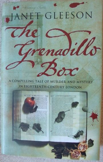 Janet Gleeson THE GRENADILLO BOX First Edition Signed
