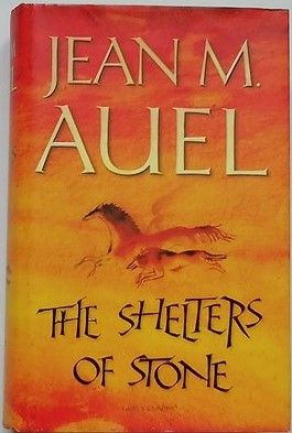 Jean M Auel THE SHELTERS OF STONE First Edition Signed