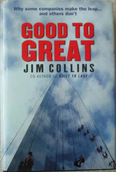 Jim Collins GOOD TO GREAT First Edition
