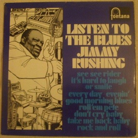 Jimmy Rushing LISTEN TO THE BLUES Vinyl LP