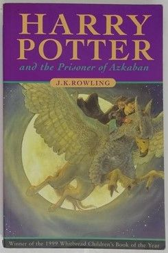 JK Rowling HARRY POTTER AND THE PRISONER OF AZKABAN First Edition First Print Paperback