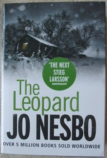 Jo Nesbo THE LEOPARD First Edition Signed