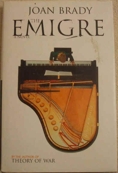 Joan Brady THE EMIGRE Signed First Edition