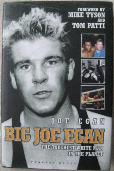 Joe Egan BIG JOE EGAN First Edition Signed