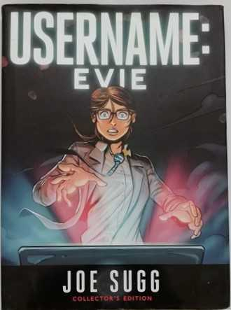 Joe Sugg USERNAME EVIE First Edition Signed