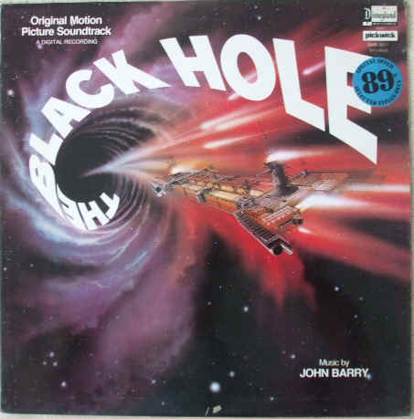 John Barry THE BLACK HOLE Vinyl LP