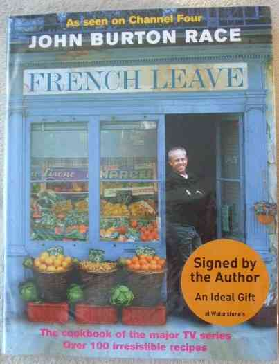 John Burton Race FRENCH LEAVE First Edition Signed