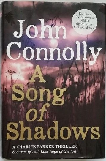 John Connolly A SONG OF SHADOWS Signed Limited Edition