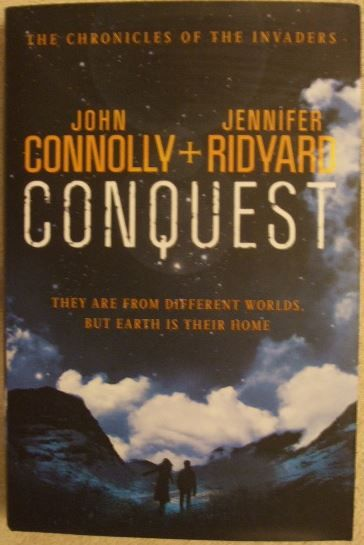 John Connolly Jennifer Ridyard CONQUEST First Edition Double Signed