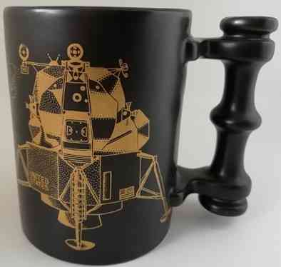John Cuffley APOLLO 11 MUG Limited Edition