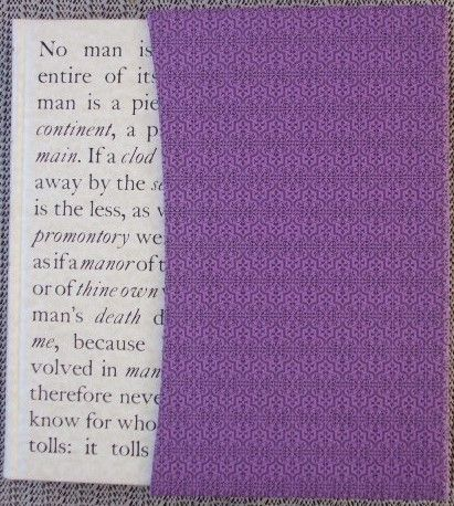 John Donne NO MAN IS AN ISLAND Folio Society