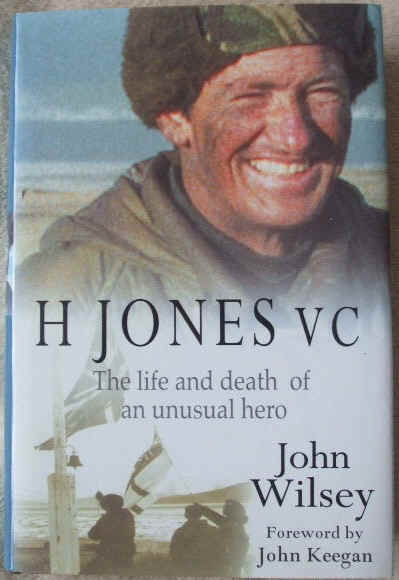 John Wilsey H JONES VC Signed First Edition