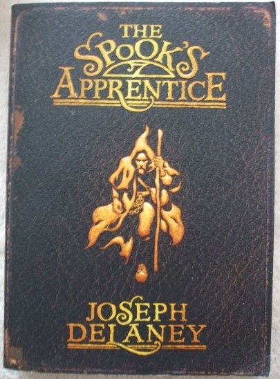 Joseph Delaney THE SPOOK'S APPRENTICE Signed Paperback