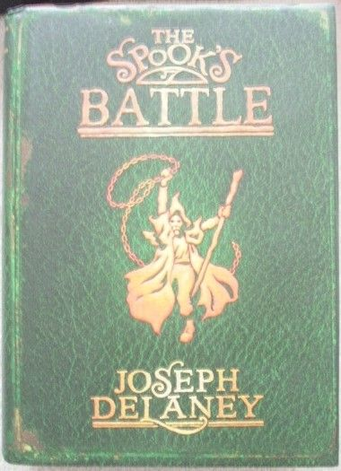 Joseph Delaney THE SPOOK'S BATTLE First Edition Signed