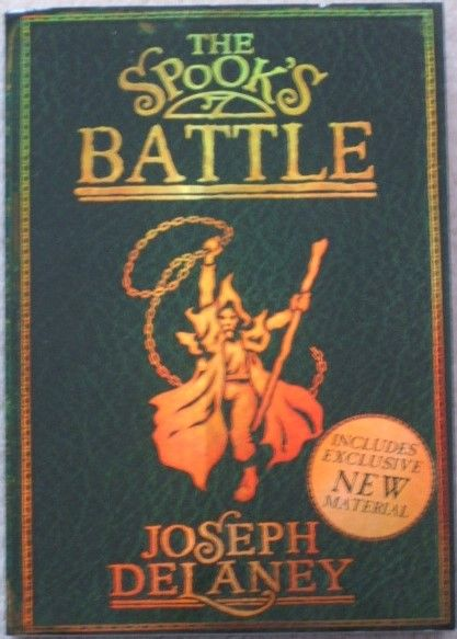 Joseph Delaney THE SPOOK'S BATTLE Signed Paperback