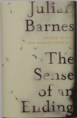Julian Barnes THE SENSE OF AN ENDING Signed Hardback