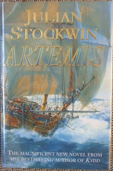 Julian Stockwin ARTEMIS First Edition Signed