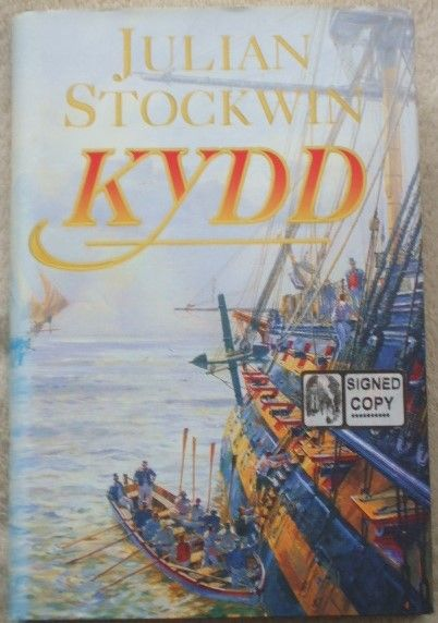 Julian Stockwin KYDD First Edition Signed