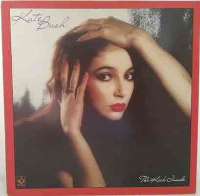 Kate Bush THE KICK INSIDE Vinyl LP Alternative Cover