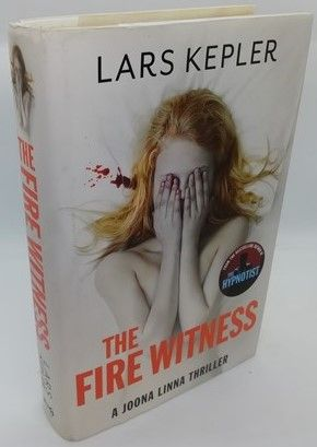Lars Kepler THE FIRE WITNESS First Edition Signed