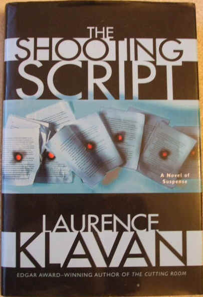 Laurence Klavan THE SHOOTING SCRIPT Signed First Edition