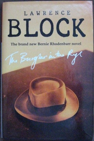 Lawrence Block THE BURGLAR IN THE RYE Signed Limited Edition