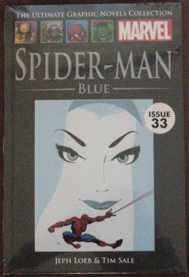 Loeb Sale SPIDER-MAN BLUE Graphic Novel Sealed