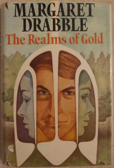 Margaret Drabble THE REALMS OF GOLD First Edition Signed