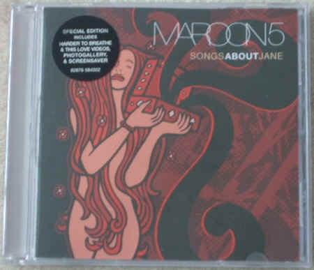 Maroon5 SONGS ABOUT JANE Enhanced CD
