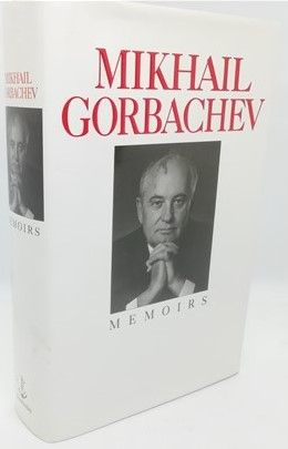 Mikhail Gorbachev MEMOIRS First Edition Signed