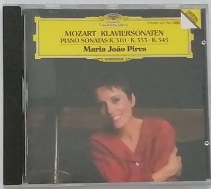 Mozart PIANO SONATAS Used CD Pires