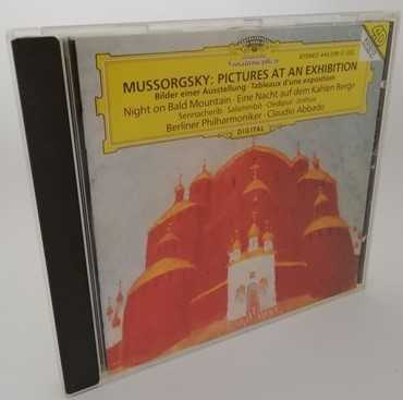 Mussorgsky PICTURES AT AN EXHIBITION Classical CD Abbado