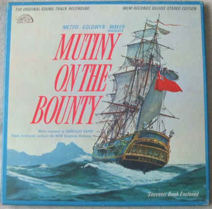 Mutiny on the Bounty Soundtrack Deluxe Stereo Edition Vinyl Boxed