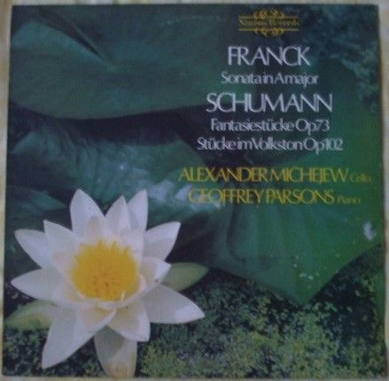 Nimbus 2121 FRANCK SONATA IN A SCHUMANN FANTASY PIECES Vinyl LP Michejew