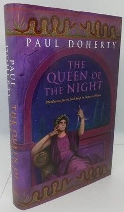 Paul Doherty THE QUEEN OF THE NIGHT First Edition Signed